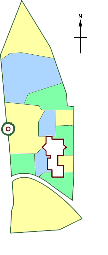 Redhall section map